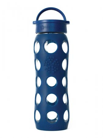 Lifefactory Trinkflasche 650 ml midnight blue