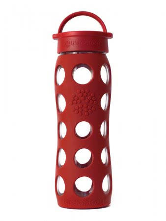 Lifefactory Trinkflasche 650 ml red