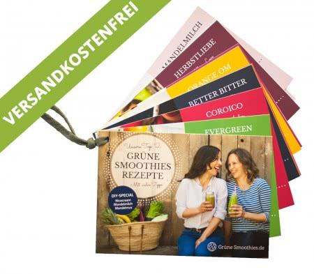 Grüne Smoothies Rezept-Karten-Set von Svenja & Carla