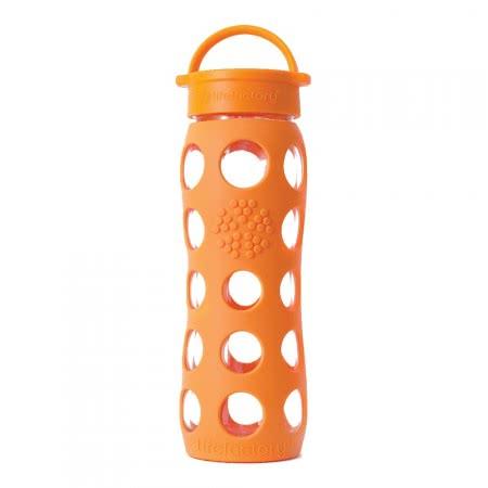 Lifefactory Trinkflasche 650 ml orange