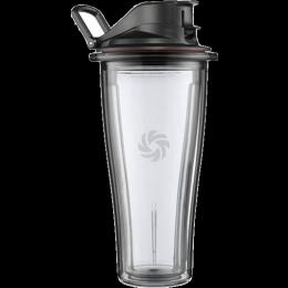 Vitamix 06-Liter-Behälter für Vitamix Ascent Hochleistungsmixer freigstellt