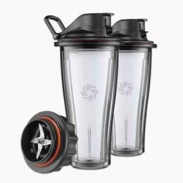 Vitamix 0,6-Liter-Behälter-Set mit Messerblock für Ascent Series Hochleistungsmixer