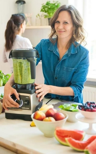 Green Smoothie im Vitamix Pro 750