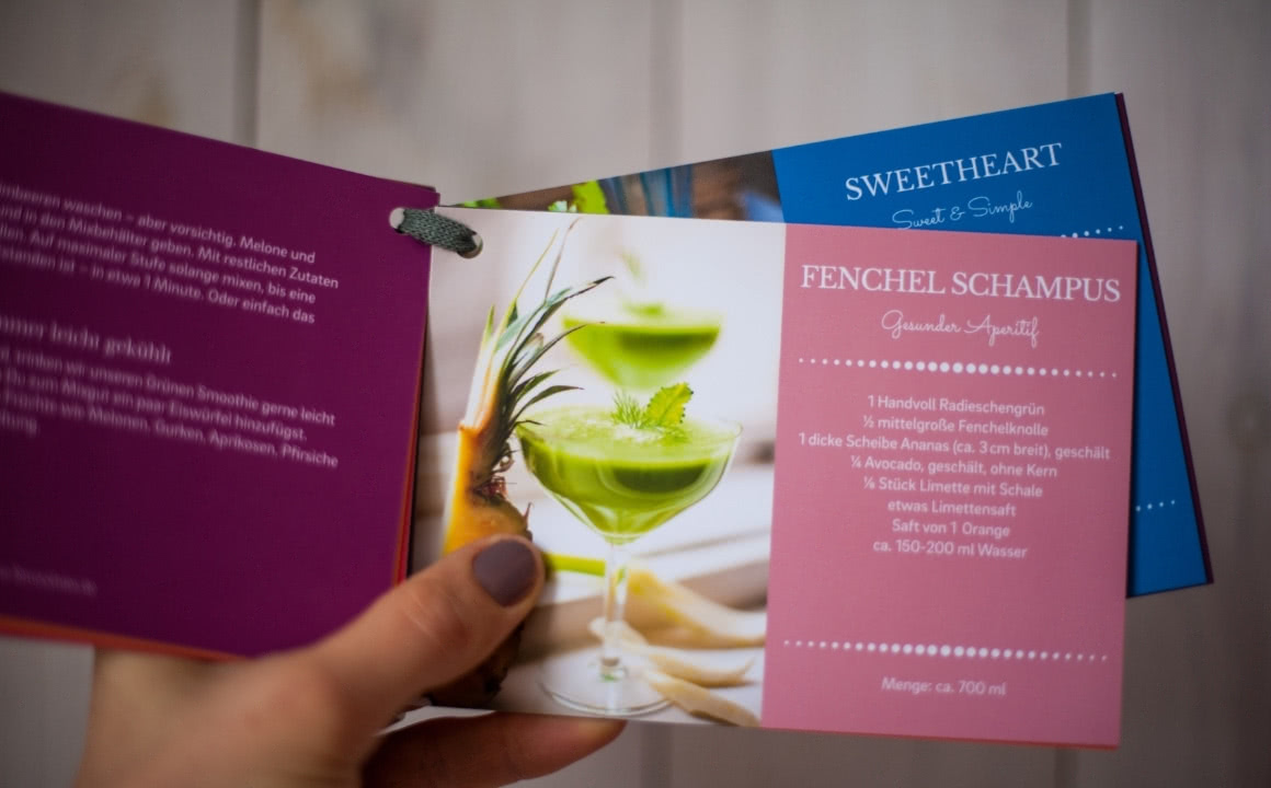 Grüne Smoothies Rezept-Karten-Set mit 12 Grüne Smoothies Rezepten und 3 Clean-Eating-Rezepten